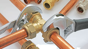 Plumbing, pipes, fittings and tools